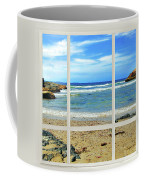 Beach View From Your Living Room Window Coffee Mug