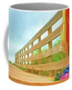 Beach Visit Coffee Mug