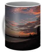 Beach Walk At Sunset Coffee Mug