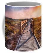 Beach Walk In The Dunes Coffee Mug