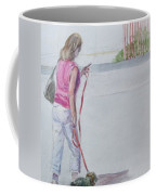 Beach Walking Coffee Mug