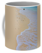 Beach Water Curves Coffee Mug