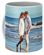 Beach Wedding Coffee Mug