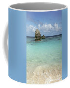 Beach With Big Rock Ahead Vertical Bermuda Coffee Mug