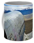 Beached Plane Wreckage - Iceland Coffee Mug