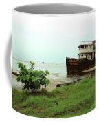 Beached Ship Coffee Mug