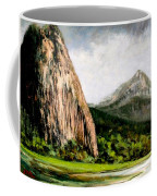 Beacon Rock Washington Coffee Mug