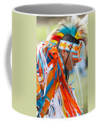 Beaded Pow Wow Dancer Coffee Mug