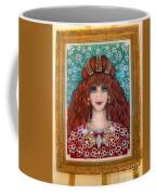 Sarah Goldberg Beauty Queen. Beadwork Coffee Mug