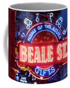 Beale Street Home Of The Blues Coffee Mug