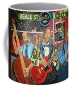 Beale Street Coffee Mug by John Keaton