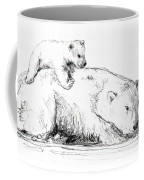 Bear And Cub Coffee Mug