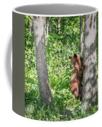Bear Cub Climb Coffee Mug