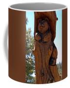 Bear In Wood Coffee Mug
