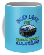 Bear Lake Rocky Mountain National Park Colorado Coffee Mug