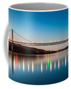 Bear Mountain Bridge At Dusk. Coffee Mug