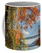 Bear Mountain Bridge Fall Color Coffee Mug