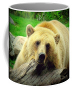 Bear On A Log Coffee Mug