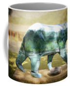 Bear On The Little Tennessee River Coffee Mug