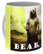 Brown Grizzly Bear Coffee Mug