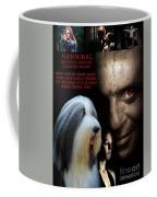 Bearded Collie Art Canvas Print - Hannibal Movie Poster Coffee Mug
