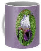 Bearded Iris Blossom Coffee Mug