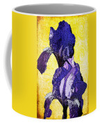 Bearded Iris Coffee Mug