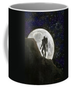 Beast At Full Moon Coffee Mug