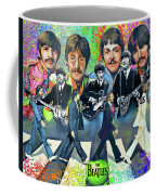Beatles Fan Art Coffee Mug