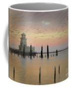 Beau Rivage Lighthouse And Marina Coffee Mug