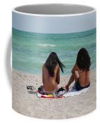 Beauties On The Beach Coffee Mug