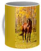 Beautiful Autumn Horse Coffee Mug