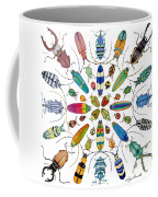 Beautiful Beetles Coffee Mug