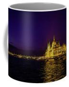 Beautiful Budapest Parliament Coffee Mug