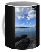 Beautiful Calm Ocean Water's In Casco Bay Maine Coffee Mug