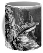 Beautiful Colorado River Page Arizona Blk Wht  Coffee Mug