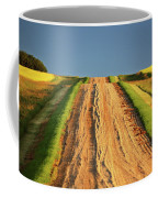Beautiful Colors Along A Saskatchewan Country Road Coffee Mug