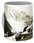 Beautiful Curving Drive Through The Mountains Coffee Mug