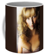 Beautiful Fashion Model Coffee Mug by Jorgo Photography - Wall Art Gallery