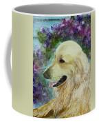Beautiful Golden Coffee Mug