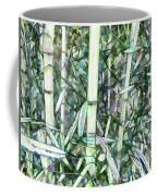 Beautiful Green Leaf Bamboo Coffee Mug