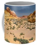 Beautiful Hiking In The Valley Of Fire Coffee Mug