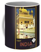 Beautiful India Poster Coffee Mug