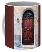 Viaje Beautiful Italian Door Volterre  Coffee Mug