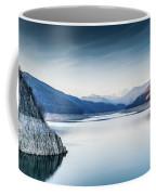 Beautiful Landscape Of The Lake Vidraru Romania Coffee Mug