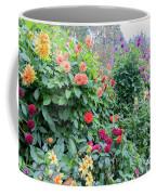 Beautiful Lot Of Dahlias,butchart Gardens,victoria,canada Coffee Mug