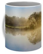 Beautiful Misty River Sunrise Coffee Mug