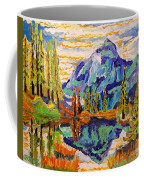 Beautiful Mountainous Reflection  Coffee Mug