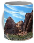 Beautiful Nature Landscape Valley Of Fire  Coffee Mug