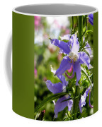 Tall Bellflower Coffee Mug